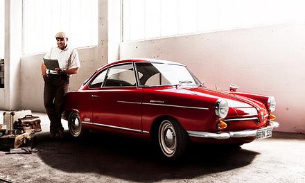 Modell NSU Sport Prinz производился в период с 1958 по 1967 г. и всего было выпущено 20831 моделей.