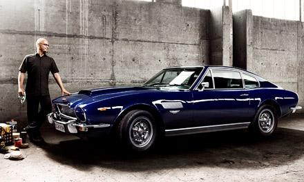 В свое время Aston Martin V8 Series 3 стал самым быстрым и дорогим спортивным купе в мире. Всего было произведено 2308 автомобилей.